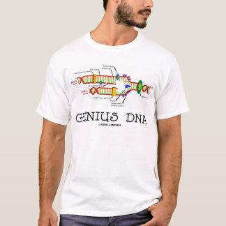Camiseta ADN do gênio (humor da réplica do ADN)