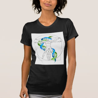Camiseta ADN do homem de Vitruvian