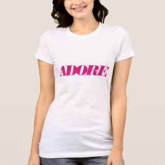 Camiseta Adore o t-shirt do bella