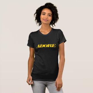 Camiseta Adore V - t-shirt do pescoço