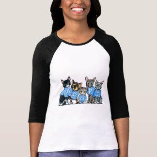 Camiseta Adote gatos do abrigo
