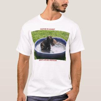 Camiseta Adote um galgo aposentado