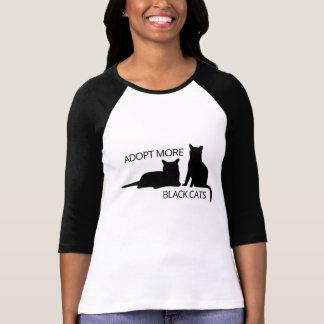 Camiseta Adote uns gatos mais pretos