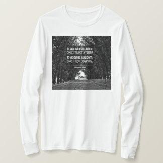 Camiseta Adquira a sabedoria