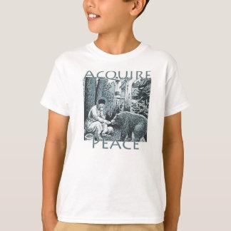 Camiseta Adquira o ~St da paz. Seraphim de crianças de