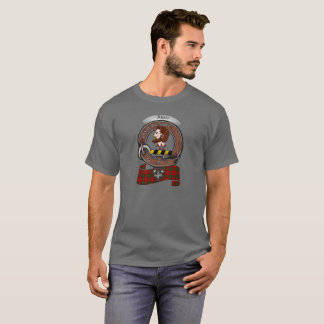 Camiseta Adulto do crachá do clã de Adair