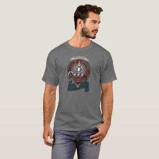 Camiseta Adulto do crachá do clã de Bannerman