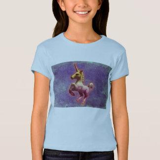 Camiseta Adultos do fato do unicórnio ou miúdos (névoa