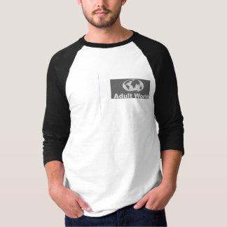 Camiseta adultworld