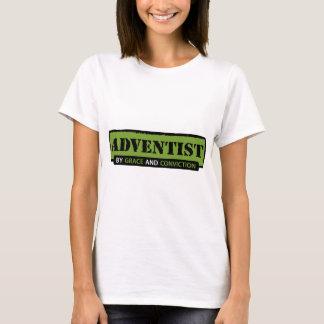 Camiseta Adventist pela benevolência e pela convicção