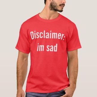 Camiseta Advirta o transeunte