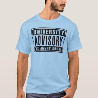 Camiseta Advisory o bebado irritado