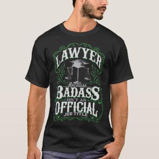 Camiseta Advogado de Badass