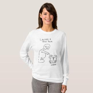Camiseta Advogado & urso de ursinho