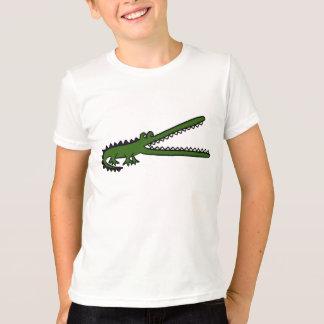 Camiseta AE t-shirt dos desenhos animados do crocodilo