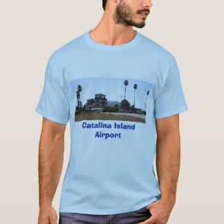 Camiseta Aeroporto de Catalina, aeroporto da ilha de