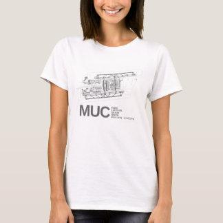 Camiseta Aeroporto internacional de Munich Franz Josef