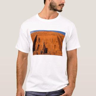 Camiseta AF, Egipto, Abu Simbel. Fachada no por do sol,