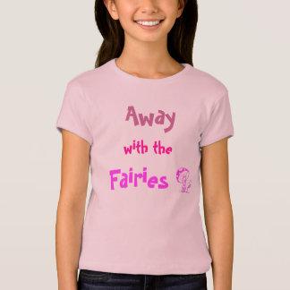 Camiseta Afastado com as fadas
