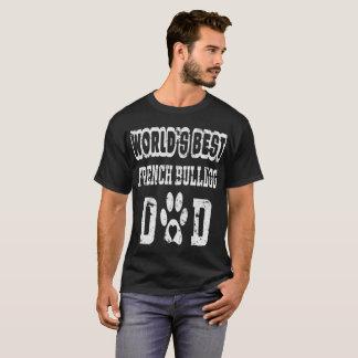 Camiseta Aflição do amante do cão do pai do buldogue