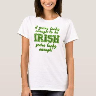 Camiseta Afortunado para ser irlandês
