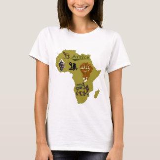 Camiseta África continente