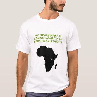 Camiseta África - meu grandbaby está vindo-me em casa logo…