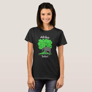 Camiseta África - safári de elefante alpargata