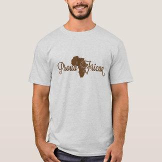 Camiseta Africano orgulhoso