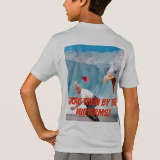 Camiseta Agarre-os pelo T dos meninos de Eagle dos prazos