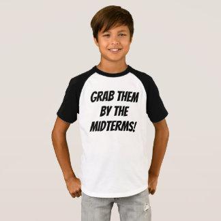 Camiseta Agarre-os pelos prazos médios adolescentes/T dos