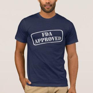 Camiseta Agência de Medicamentos e Alimentos aprovado pelo