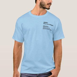 Camiseta AGENTE: Prazer da tarde, PROJETO: Estes são meus…