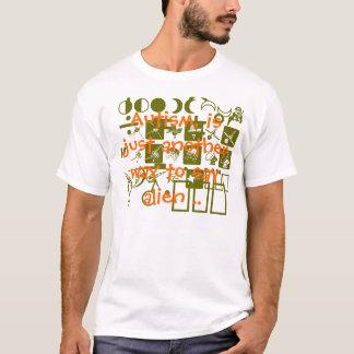 Camiseta Agente secreto do espaço