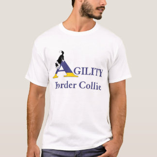Camiseta Agilidade border collie