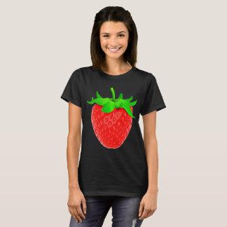 Camiseta Agitação de morango