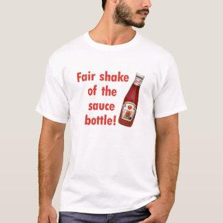 Camiseta Agitação justa de Kevin Rudd da garrafa do molho!