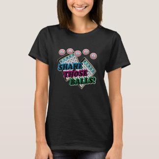 Camiseta Agite aqueles a inclinação das bolas 3D