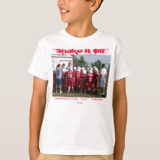 Camiseta Agite-o fora dos miúdos T