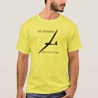 Camiseta AGORA ISTO ESTÁ VOANDO… o planador preto