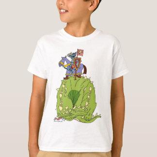 Camiseta Agora onde é esse dragão darned…? (Criança)