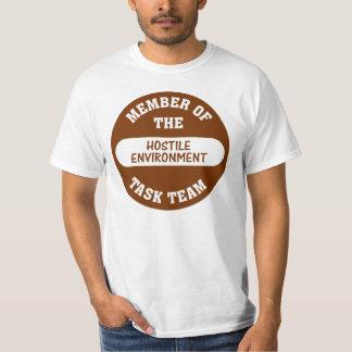 Camiseta Agora que é o que eu chamo um hostil trabalhe o