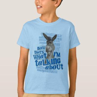 Camiseta Agora que é o que eu estou falando sobre!