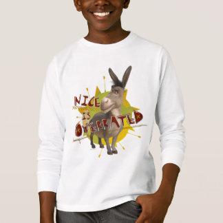 Camiseta Agradável é avaliado em excesso