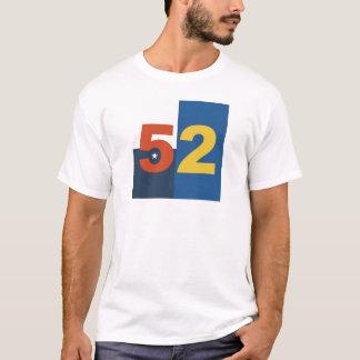 Camiseta Agrupe o t-shirt de 52 (homens de nenhum texto)