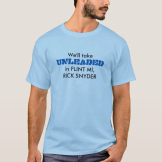 Camiseta Água do sílex compacta