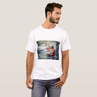 Camiseta Água e fogo