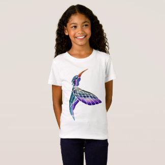 Camiseta Aguarela abstrata do colibri