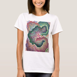 Camiseta Aguarela botânica da respiração