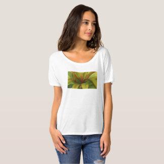 Camiseta Aguarela da folha do Ti por Malorie Arisumi Maui